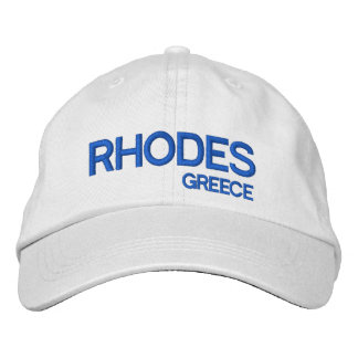 Rhodes, Greece Custom Baseball Cap
