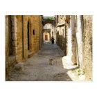 Rhodes Old Town Postcard