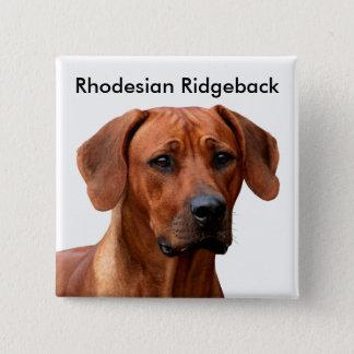 Rhodesian Ridgeback Button