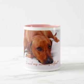 Rhodesian Ridgeback coffee mug