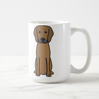 Rhodesian Ridgeback Dog Cartoon Coffee Mug