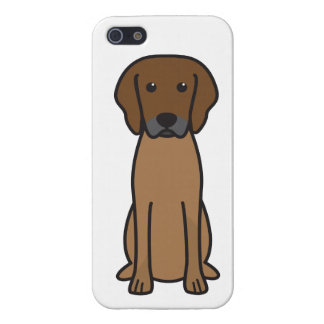 Rhodesian Ridgeback Dog Cartoon Cover For iPhone 5/5S