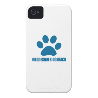 RHODESIAN RIDGEBACK DOG DESIGNS Case-Mate iPhone 4 CASES