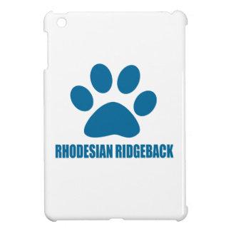 RHODESIAN RIDGEBACK DOG DESIGNS iPad MINI CASES