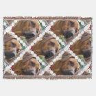 Rhodesian Ridgeback Dog Throw Blanket