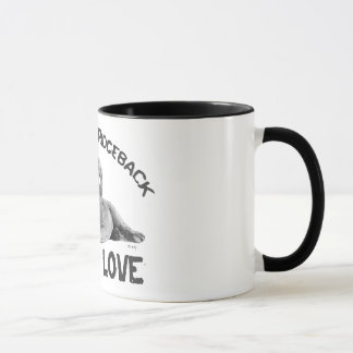 Rhodesian Ridgeback Drawing Mug