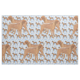 Rhodesian Ridgeback fabric