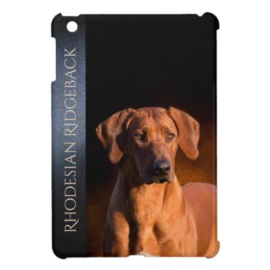 Rhodesian Ridgeback Hard shell iPad Mini Case