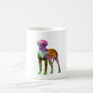 Rhodesian Ridgeback in watercolor Coffee Mug