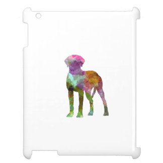 Rhodesian Ridgeback in watercolor iPad Case