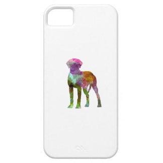 Rhodesian Ridgeback in watercolor iPhone 5 Covers