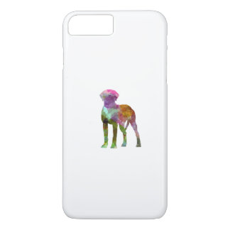 Rhodesian Ridgeback in watercolor iPhone 7 Plus Case