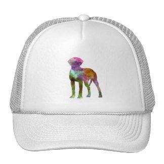 Rhodesian Ridgeback in watercolor Trucker Hat