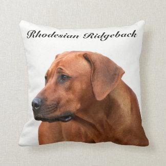 Rhodesian Ridgeback kissing Throw Pillow