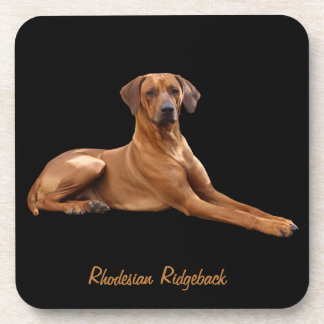 Rhodesian Ridgeback mats (set of 6 stuks) Coaster