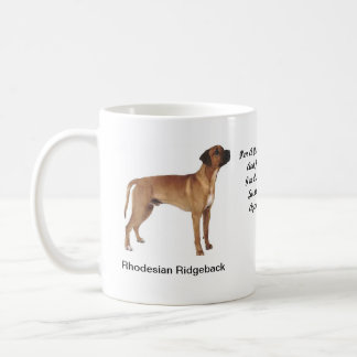Rhodesian Ridgeback Mug - With images and a motif