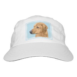 Rhodesian Ridgeback Painting - Original Dog Art Hat