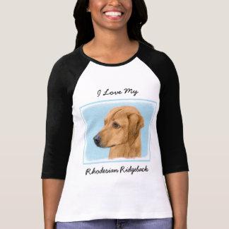 Rhodesian Ridgeback Painting - Original Dog Art T-Shirt