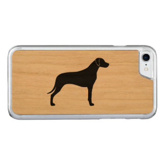 Rhodesian Ridgeback Silhouette Carved iPhone 8/7 Case