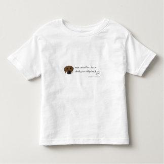 rhodesian ridgeback toddler t-shirt