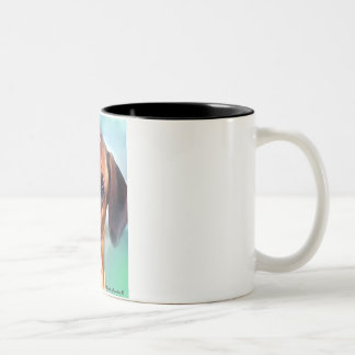 rhodesian ridgeback Two-Tone coffee mug