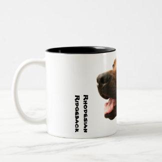 Rhodesian Ridgeback Two-Tone Coffee Mug