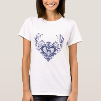 Rhodesian Ridgeback Winged Heart T-Shirt
