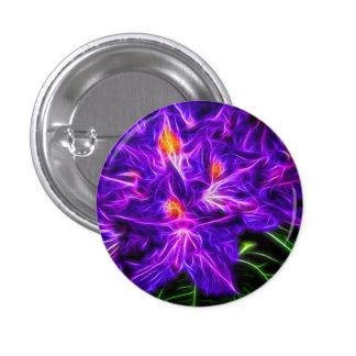 Rhododendron 1 Inch Round Button