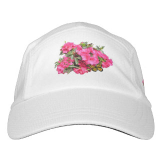 Rhododendron and Butterfly Hat