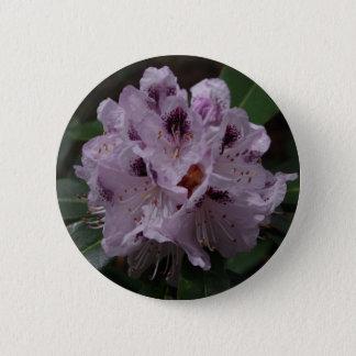 Rhododendron Flower Badge 2 Inch Round Button