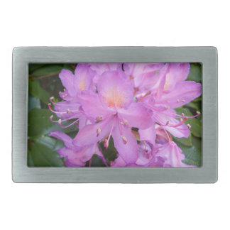 Rhododendron Flower Belt Buckle