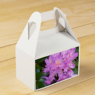 Rhododendron Flower Favour Box Wedding Favor Boxes