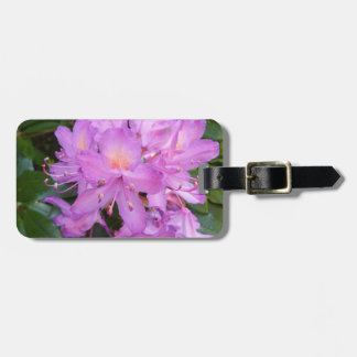 Rhododendron Flower Luggage Tag