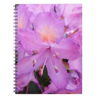 Rhododendron Flower Notebook