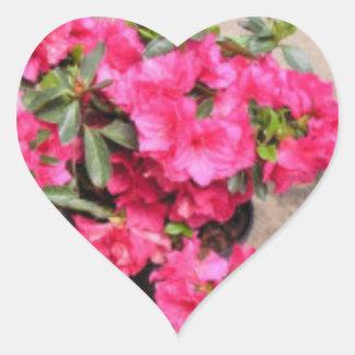 Rhododendron Heart Heart Sticker