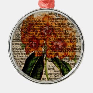 Rhododendron javanicum Flower Metal Ornament