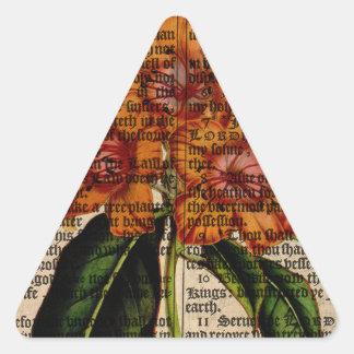 Rhododendron javanicum Flower Triangle Sticker