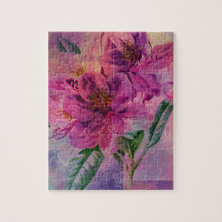 RHODODENDRON JIGSAW PUZZLE