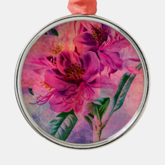 RHODODENDRON METAL ORNAMENT