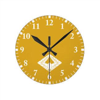 Rhombic climbing wisteria clocks