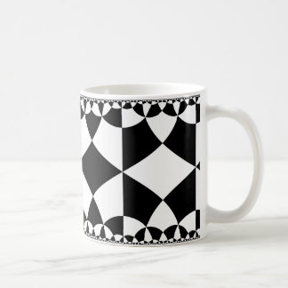 Rhombic infinity coffee mug