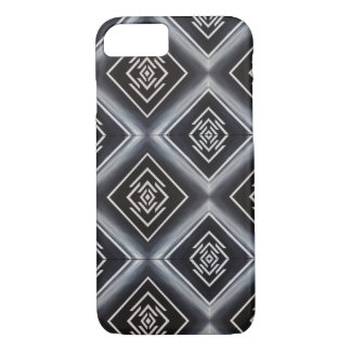 rhombuses black and white Case-Mate iPhone case