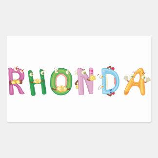 Rhonda Sticker