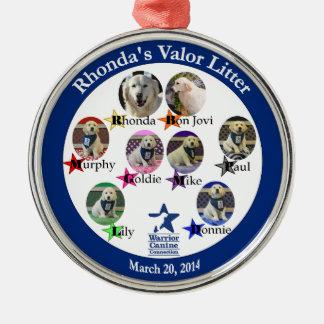 Rhonda's Valor Litter ornament