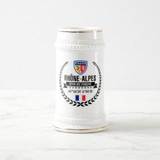 Rhône-Alpes Beer Stein
