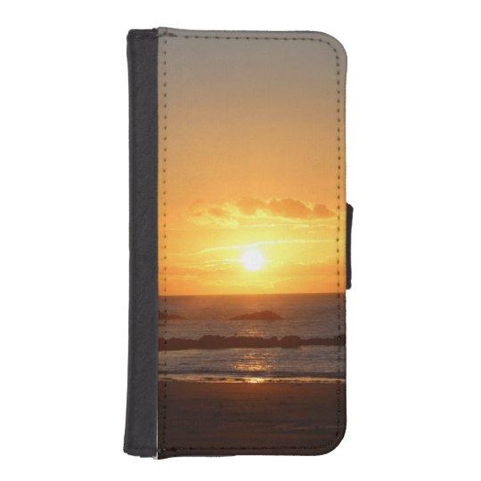 Rhosneigr Sunset. Phone Wallet
