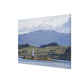Rhue Lighthouse Canvas Print