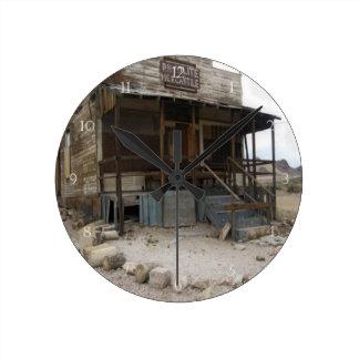 Rhyolite Mercantile Building Clocks