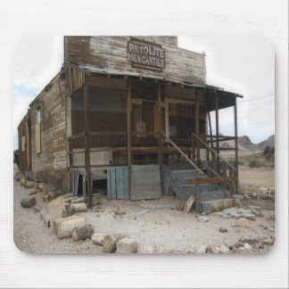 Rhyolite Mercantile Building Mouse Pad