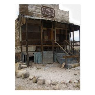 Rhyolite Mercantile Building Postcard